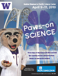 Image of Paws-on Science poster
