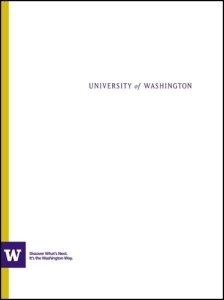 Image of a W-style pocket folder