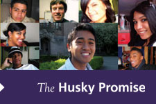 Husky Promise promotional graphic