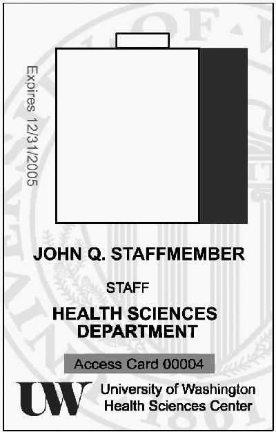 new badges coming for health sciences faculty staff and students