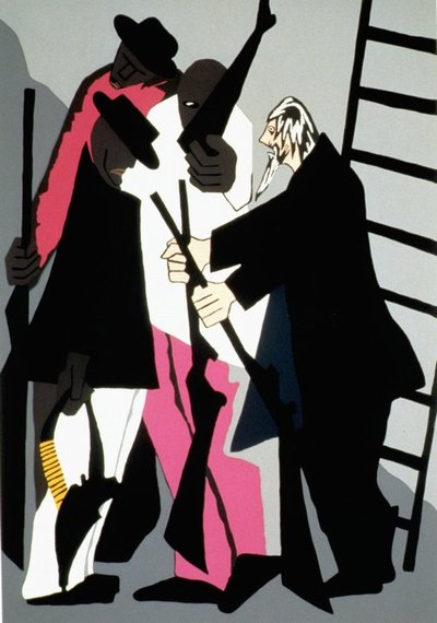 john brown': jacob lawrence's dramatic series in residence in allen ...