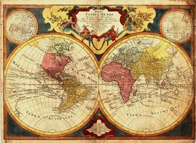 Beautiful Map Of The World.Explore Beautiful Old World Regional Maps In New Uw Libraries