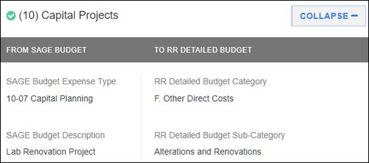 sponsor budget map section 10