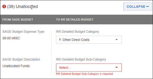 sponsor budget map section 38
