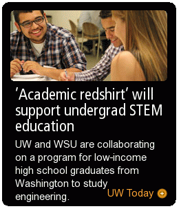 'Academic redshirt' will support undergrad STEM education