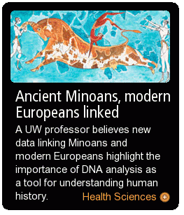 Ancient Minoans, modern Europeans linked