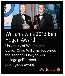 Williams wins 2013 Ben Hogan Award