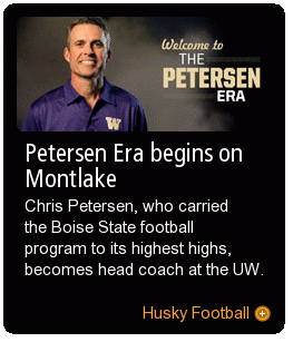 Coach Petersen brings his winning ways to Montlake