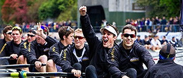 UW men's rowing team