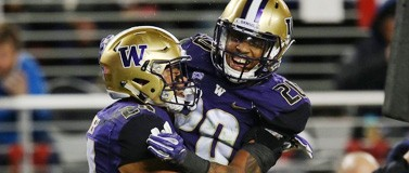 Ezekiel Turner and Kevin King, UW football players