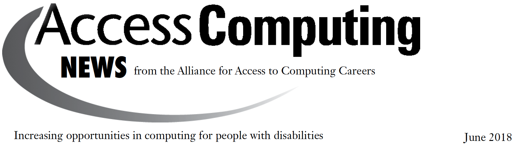 AccessComputing News header