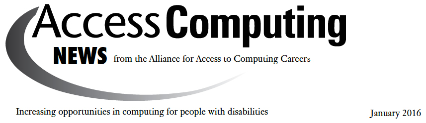 AccessComputing News Header