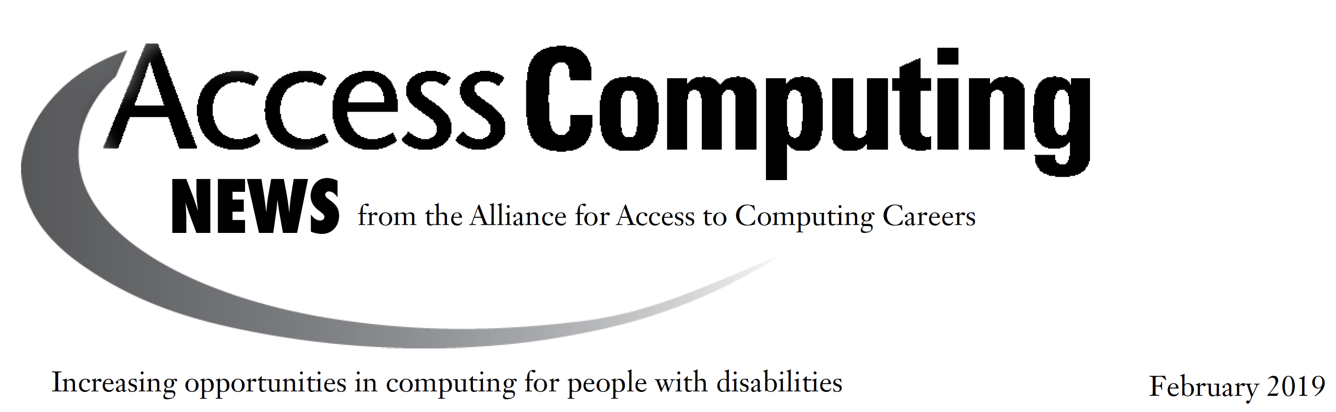 AccessComputing News Feb19 Header