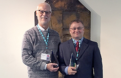 Richard Ladner and Andreas Stefik Accept Their Champions of Change Awards