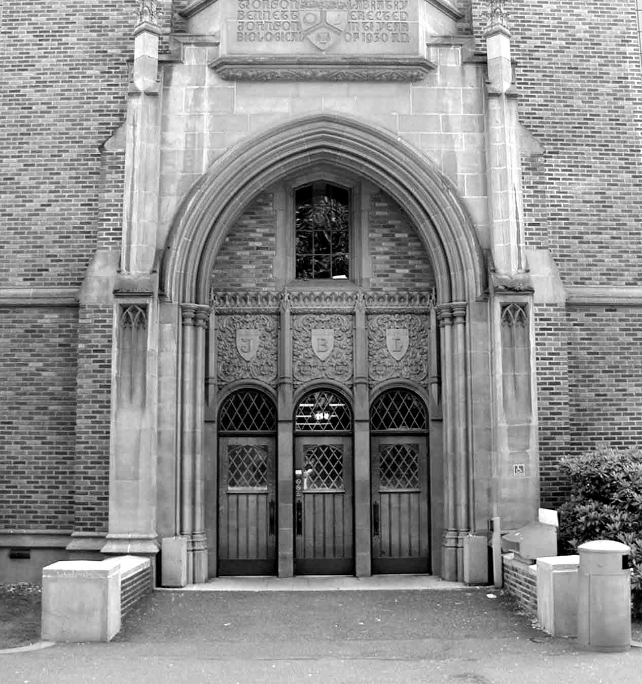 Entrance #3 to first floor
