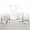 University Seal Pitcher & Tumblers Set