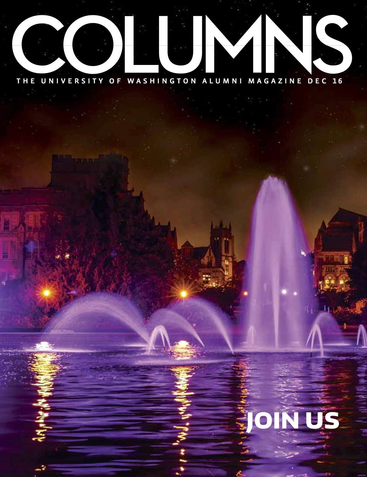 Columns Archive | Past issues of Columns, the University of