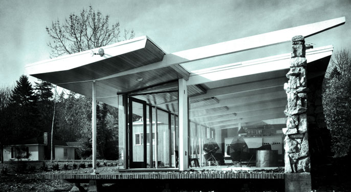 Northwest Modernism A Style For The Elements Columns