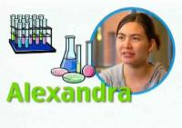 "Image from the video, ""Scholar Profile: Alexandra"""