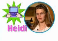 still image from video Scholar Profile Heidi