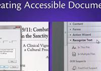 A screenshot from Creating Accessible Documents.