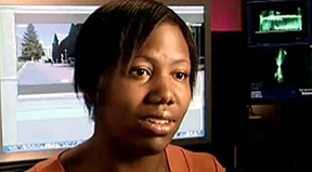 A veteran speaks about pursuing her degree.