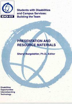Cover image for Students with Disabilities and Campus Services: Building the Team