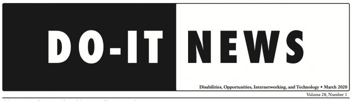 DO-IT News Banner Mar 20