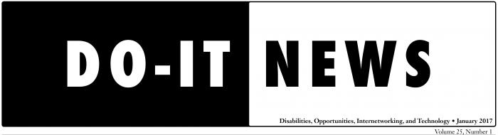 DO-IT News Header January 2017.
