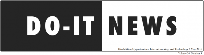 DO-IT News May 2018 Header