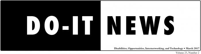 DO-IT News March 2017 header.