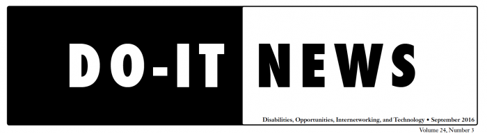 DO-IT News Header.