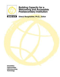Cover image for Building Capacity for a Welcoming and Accessible Postsecondary Institution
