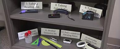Accessible Science Equipment.