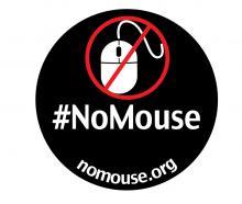 #NoMouse sticker