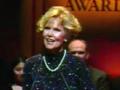 still image from video Golden Apple showing DO-IT Director Sheryl Burgstahler giving an acceptance speech for the Golden Apple Award