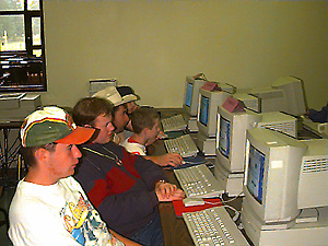 Picture of Camp Laughalot Computer Lab
