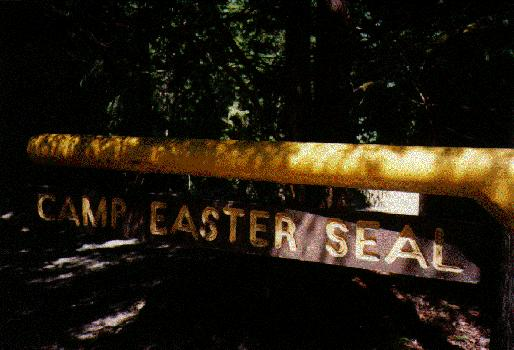 Picture of Easter Seals Camp sign