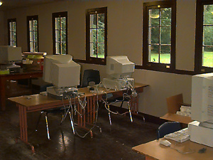 Picture of Computer Lab at Camp Waskowitz
