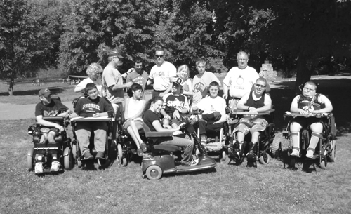 Group Photo of 2004 Camp Courage Students