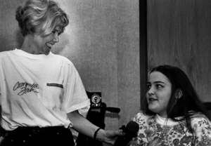 Sheryl Burgstahler interviews Jenny