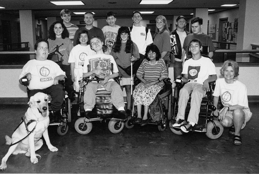 Group photo of 1993 DO-IT Scholars