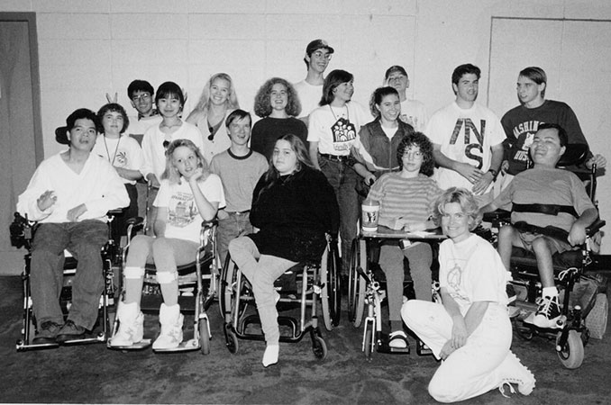 Group photo of 1994 DO-IT Scholars