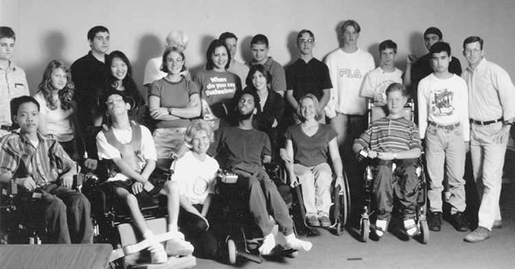 Group photo of 1996 DO-IT Scholars