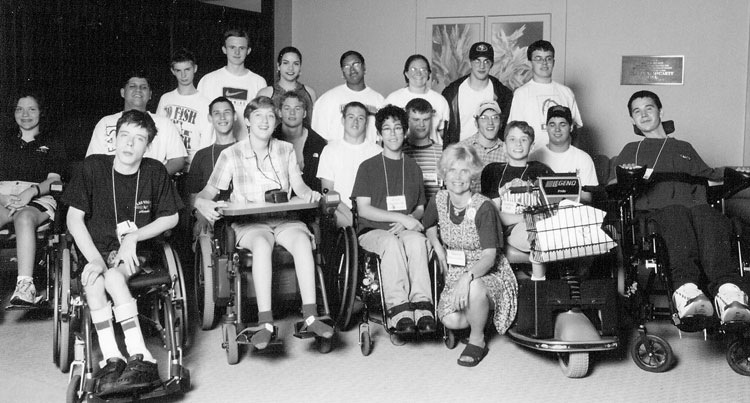 Group photo of 1998 National DO-IT Scholars