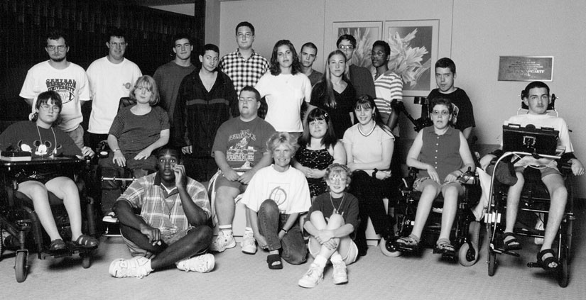 Group photo of 1998 Washington DO-IT Scholars