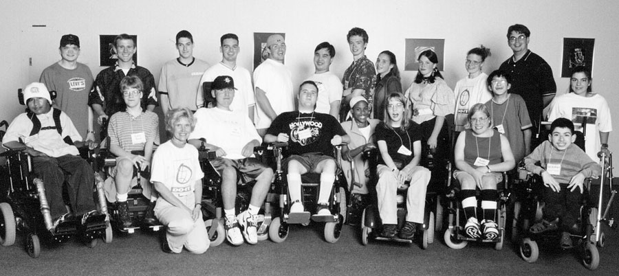 Group photo of 1999 DO-IT Scholars