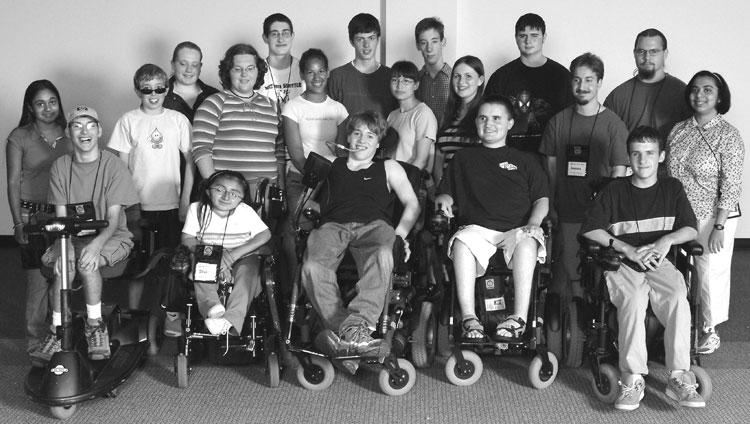 Group photo of 2002 DO-IT Scholars