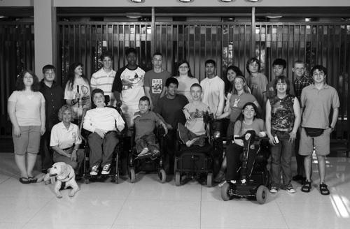 Group photo of 2006 Scholars