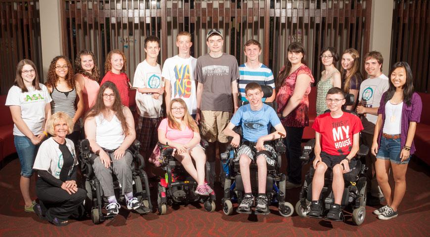 Group photo of 2013 Phase II Scholars